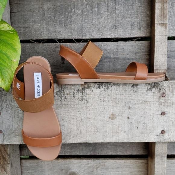 f837774f23c 🚨NEW LIST! Steve Madden Darnell Tan Flat Sandals NWT